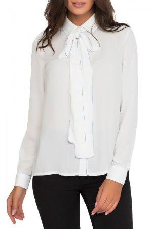 Блуза Gloss. Цвет: белый