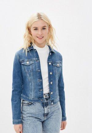 Куртка джинсовая Mavi DAPHNE. Цвет: синий