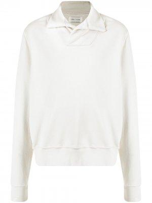 Пуловер с косым воротником Les Tien. Цвет: нейтральные цвета