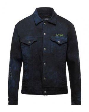 Джинсовая верхняя одежда IUTER. Цвет: черный