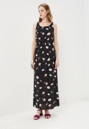 Платье Baon. Цвет: черный