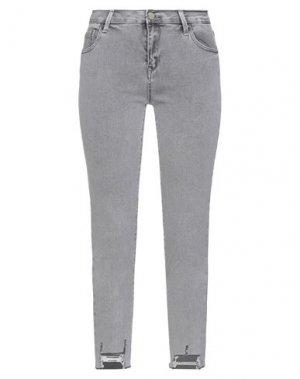 Джинсовые брюки KATE. Цвет: серый