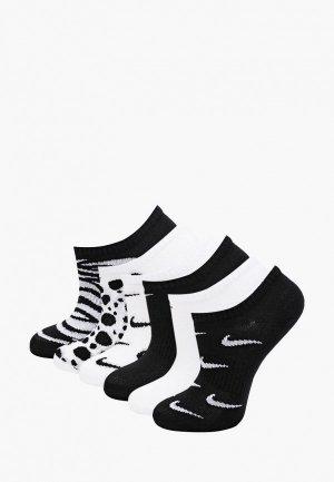 Носки 6 пар Nike Y NK EVERDAY LTWT NS 6PR - NSC. Цвет: разноцветный
