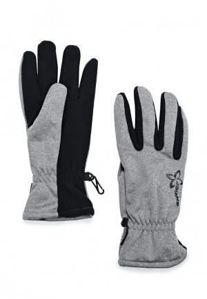 Перчатки Ziener glove multisport. Цвет: серый