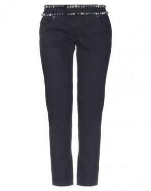 Джинсовые брюки-капри McQ Alexander McQueen. Цвет: черный
