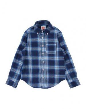Pубашка AMERICAN OUTFITTERS. Цвет: темно-синий