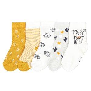 Комплект из 5 пар носков1518 La Redoute. Цвет: разноцветный