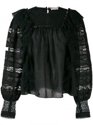 Блузка Lily Ulla Johnson. Цвет: черный