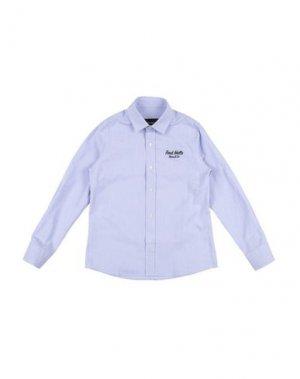 Pубашка FRED MELLO. Цвет: небесно-голубой