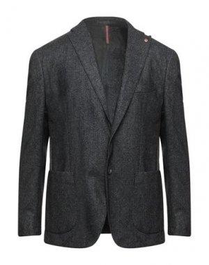 Пиджак JERRY KEY. Цвет: стальной серый