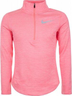 Олимпийка для девочек , размер 156-164 Nike. Цвет: розовый