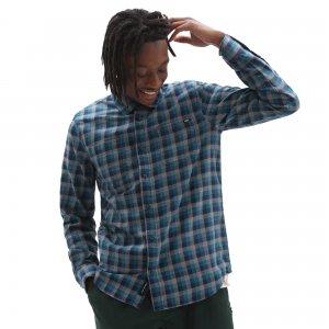 Рубашка Alameda Ii Buttondown VANS. Цвет: голубой