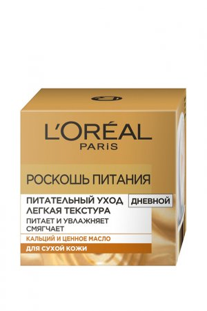 Питательный уход для лица LOreal Paris L'Oreal. Цвет: белый