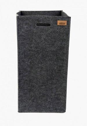 Органайзер для хранения Eva 30х30 см. Цвет: серый