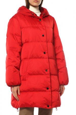Пальто Laurel. Цвет: красный