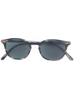 Солнцезащитные очки Marlon Josef Miller. Цвет: коричневый