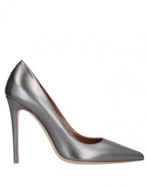 Туфли DEIMILLE. Цвет: стальной серый