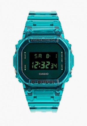 Часы Casio G-SHOCK DW-5600SB-3ER. Цвет: бирюзовый