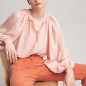 Блузка LaRedoute. Цвет: розовый