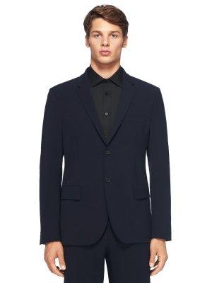 Костюмный пиджак JOSEPH. Цвет: темно-синий