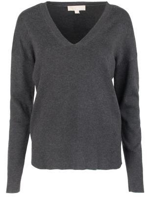 Облегающий пуловер MICHAEL KORS. Цвет: серый