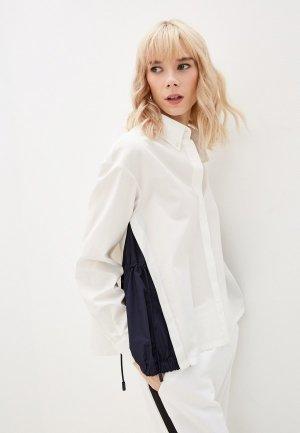 Рубашка Weekend Max Mara HAITI. Цвет: белый