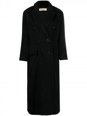 Двубортный бушлат Yves Saint Laurent Pre-Owned. Цвет: черный