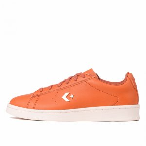 X Horween Pro Leather Low Top Converse. Цвет: оранжевый