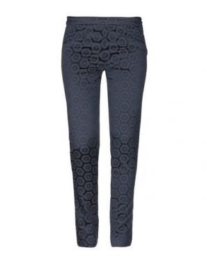 Повседневные брюки PT Torino. Цвет: свинцово-серый