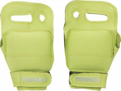 Перчатки-утяжелители , 2 x 0,5 кг Torneo. Цвет: зеленый
