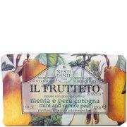 Натуральное мыло «Мята, айва и груша» Il Frutteto Mint and Quince Pear Soap 250 г Nesti Dante