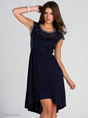 Платье Blue deep