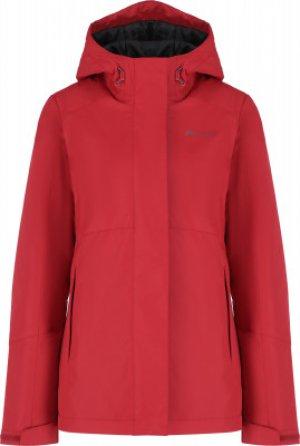 Куртка утепленная женская , размер 42 Outventure. Цвет: красный
