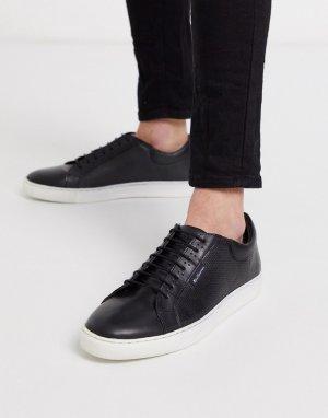Черные кроссовки на массивной подошве -Черный Ben Sherman