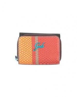 Бумажник GABS. Цвет: оранжевый