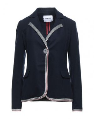 Пиджак BRAND UNIQUE. Цвет: темно-синий