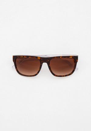 Очки солнцезащитные Emporio Armani EA4163 587913. Цвет: коричневый