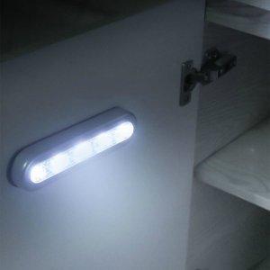 1шт светодиодный светильник для кабинета SHEIN. Цвет: белый