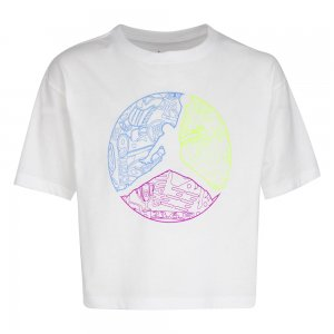 Jumpman Color Up Short Sleeve Tee Jordan. Цвет: белый