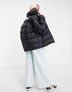Черная дутая куртка Tammikuu-Черный Napapijri