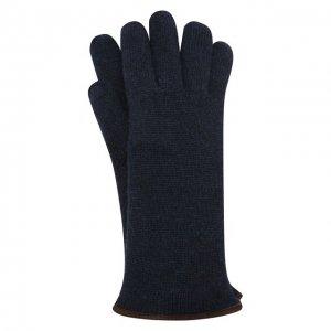 Кашемировые перчатки Svevo. Цвет: синий