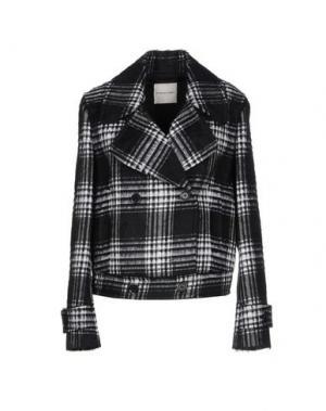 Пальто EMANUEL UNGARO. Цвет: черный