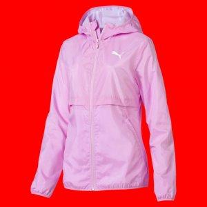 Ветровка Windbreaker (solid) PUMA. Цвет: розовый