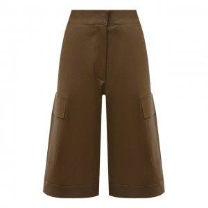 Кожаные шорты Ines&Marechal. Цвет: коричневый