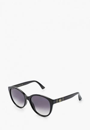 Очки солнцезащитные Gucci GG0631S 001. Цвет: черный