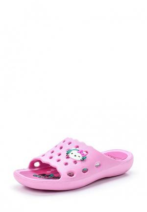 Сланцы Hello Kitty. Цвет: розовый