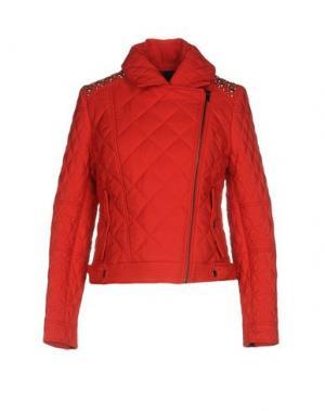 Куртка DENNY ROSE. Цвет: красный