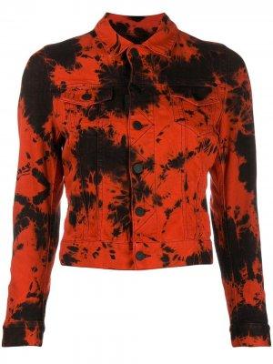 Куртка с принтом тай-дай Dsquared2