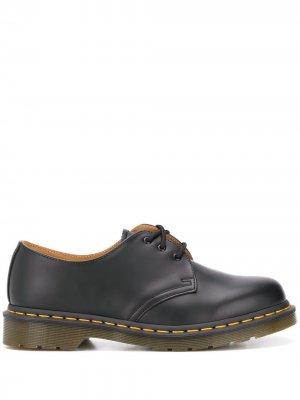 Туфли на шнуровке Dr. Martens. Цвет: черный
