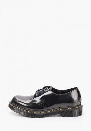 Ботинки Dr. Martens 1461-3 Eye Shoe. Цвет: черный